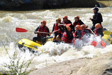 Rafting pe Buzău